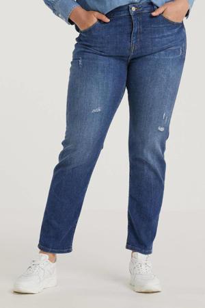 low waist slim fit jeans dark denim