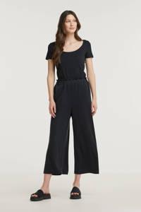 ESPRIT Women Casual high waist culotte zwart, Zwart