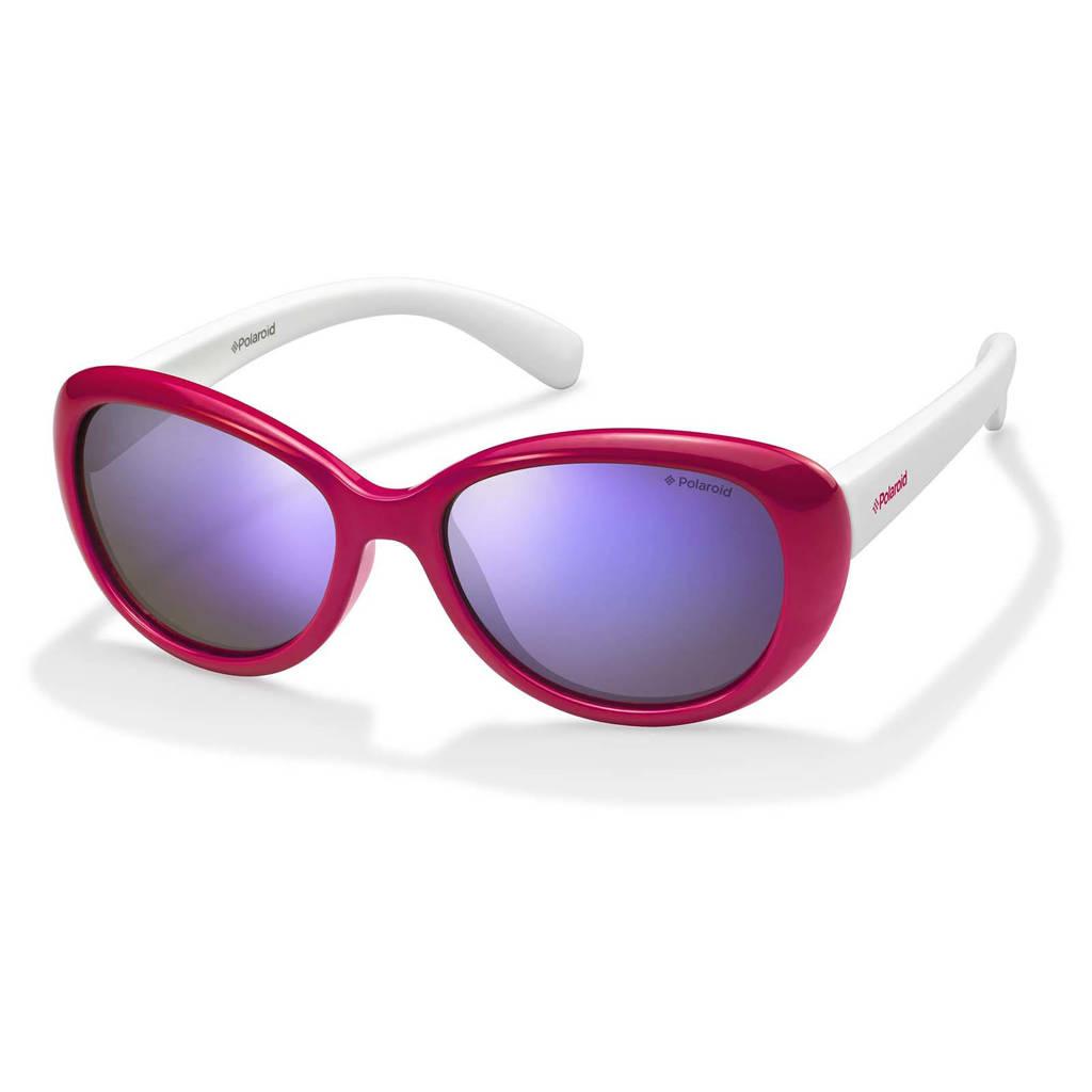 Polaroid zonnebril 8004/S roze/wit