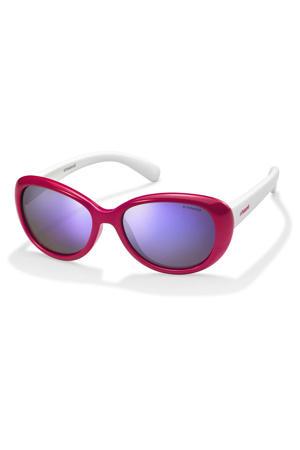 zonnebril 8004/S roze/wit