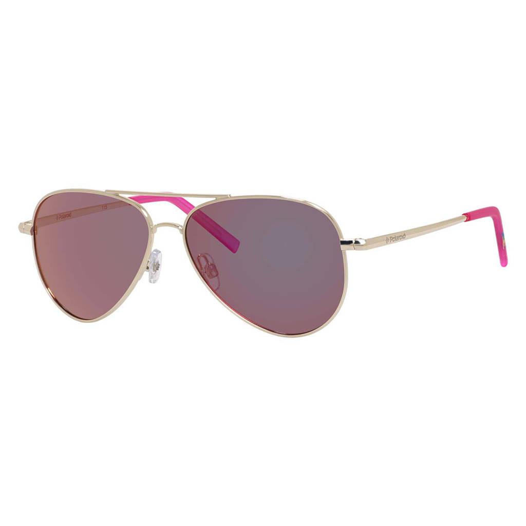 Polaroid zonnebril 8015/N goudkleurig