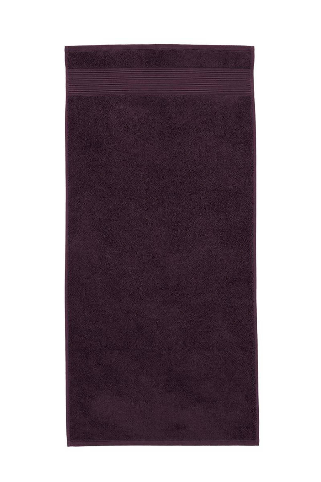 Beddinghouse handdoek (100 x 55 cm) Donkerrood
