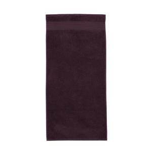 handdoek (100 x 55 cm) Donkerrood