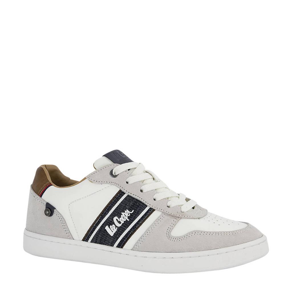 Lee Cooper Salford  sneakers wit, Wit