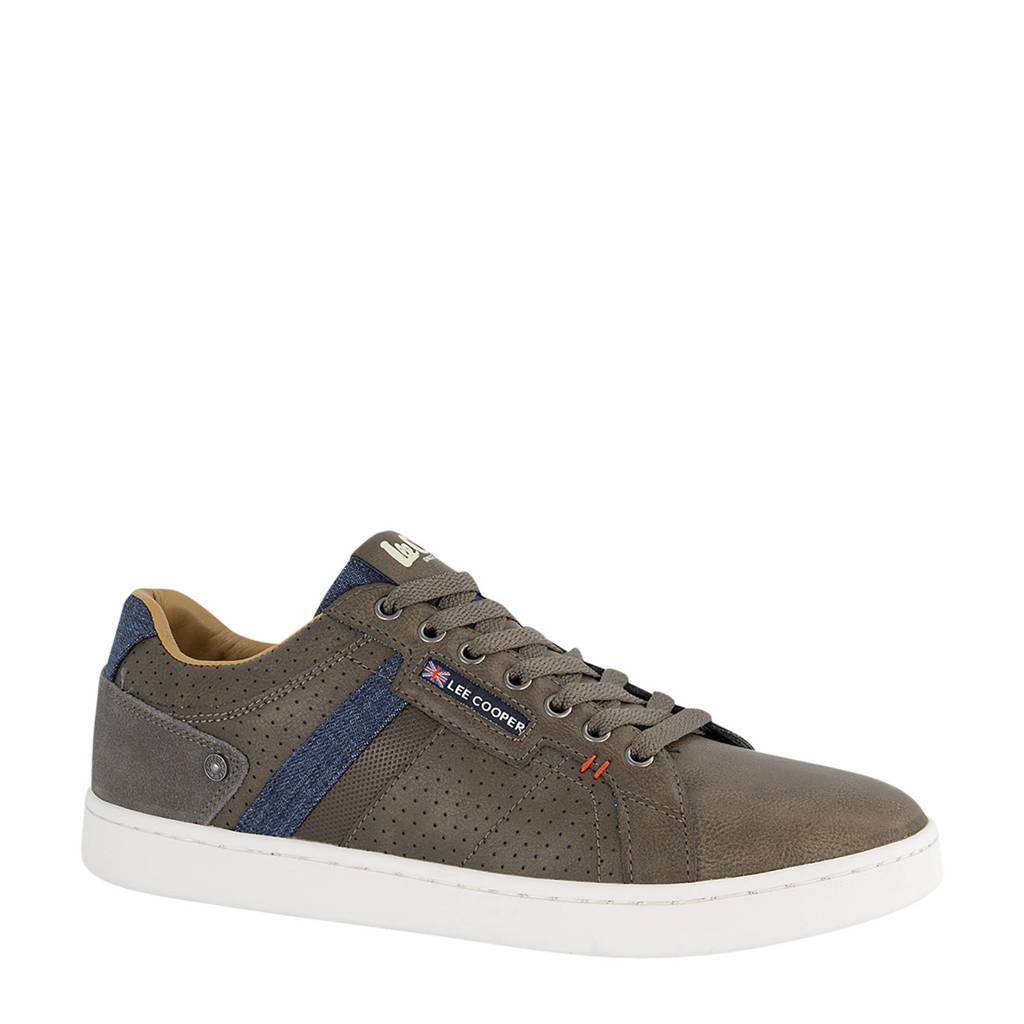 Lee Cooper Knightsbridge  sneakers donkerbruin, Donkerbruin
