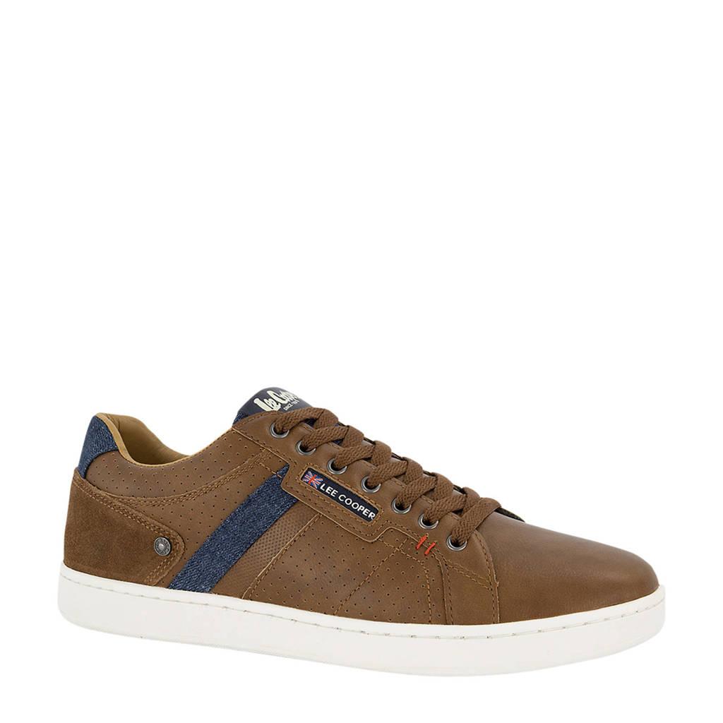 Lee Cooper Knightsbridge  sneakers bruin, Bruin
