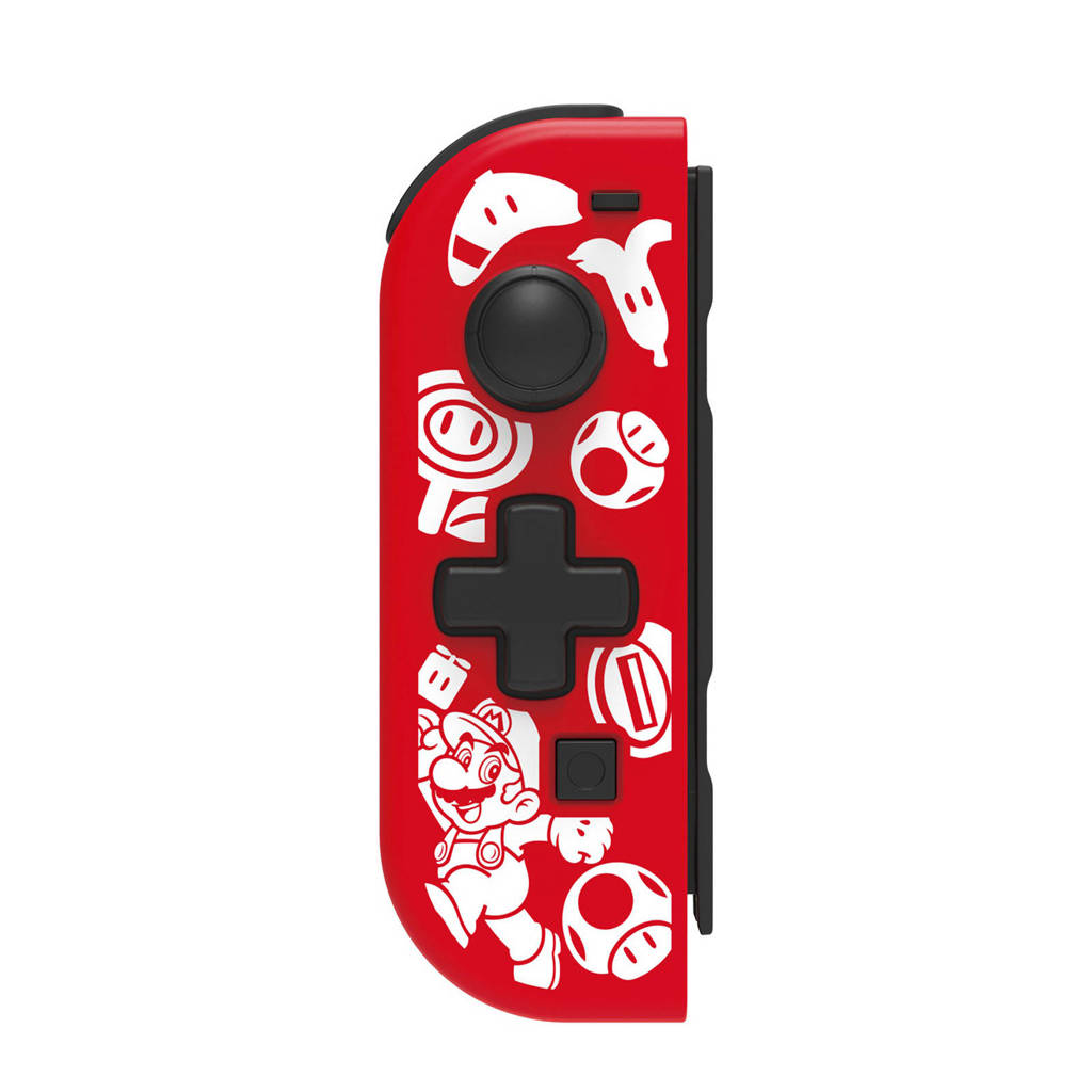 Hori D-Pad Controller links Nintendo Switch (New Mario Design), Rood