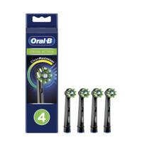 Oral-B  CrossAction opzetborstels zwart (4 stuks), Zwart