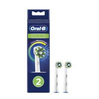 Oral-B  CrossAction opzetborstels (2 stuks), Wit