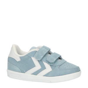 Victory  sneakers lichtblauw/wit