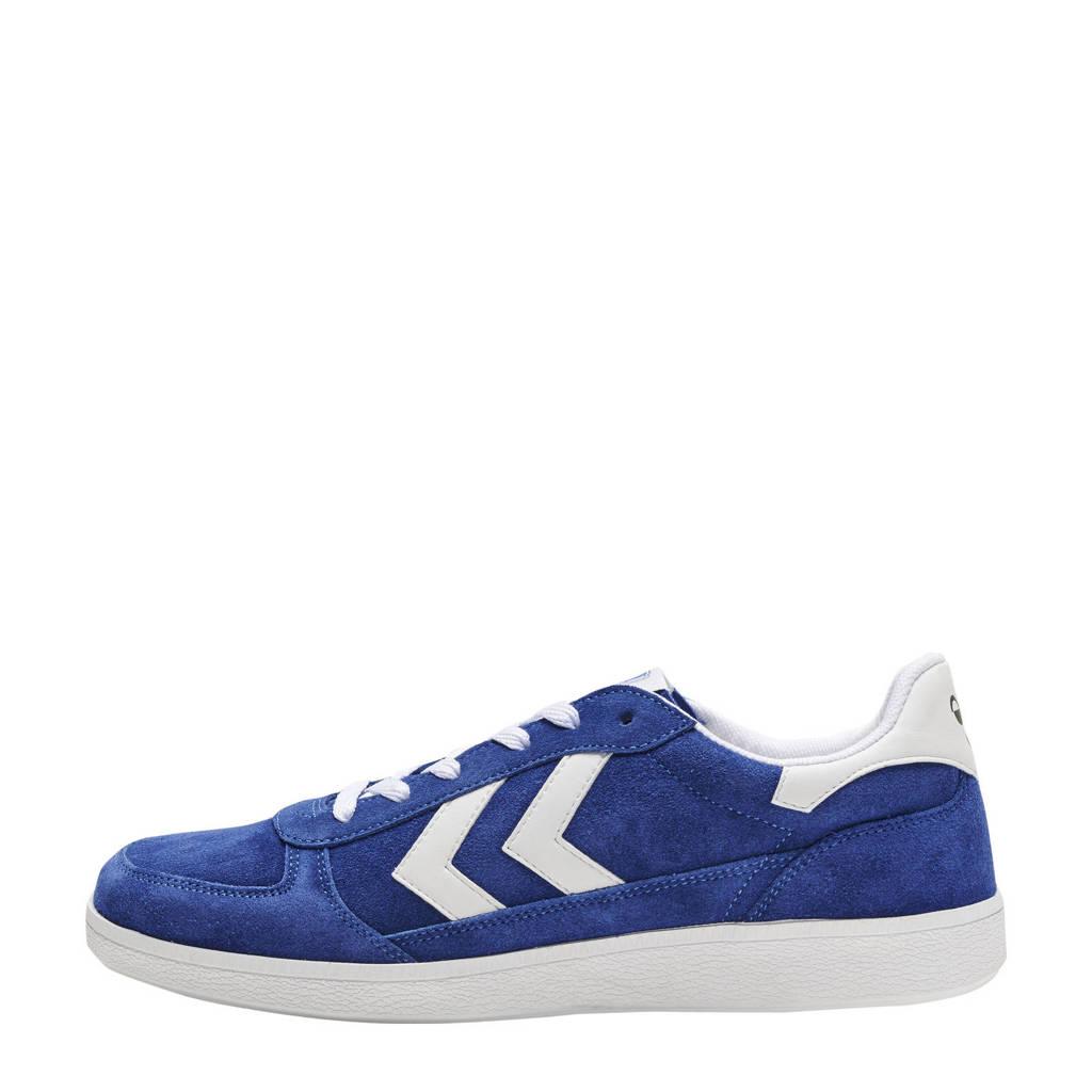 hummel   sneakers blauw/wit, Blauw/wit