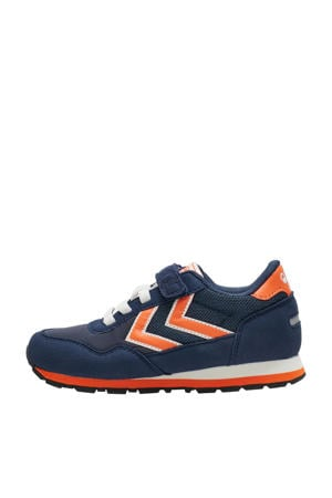 Reflex  sneakers donkerblauw/oranje