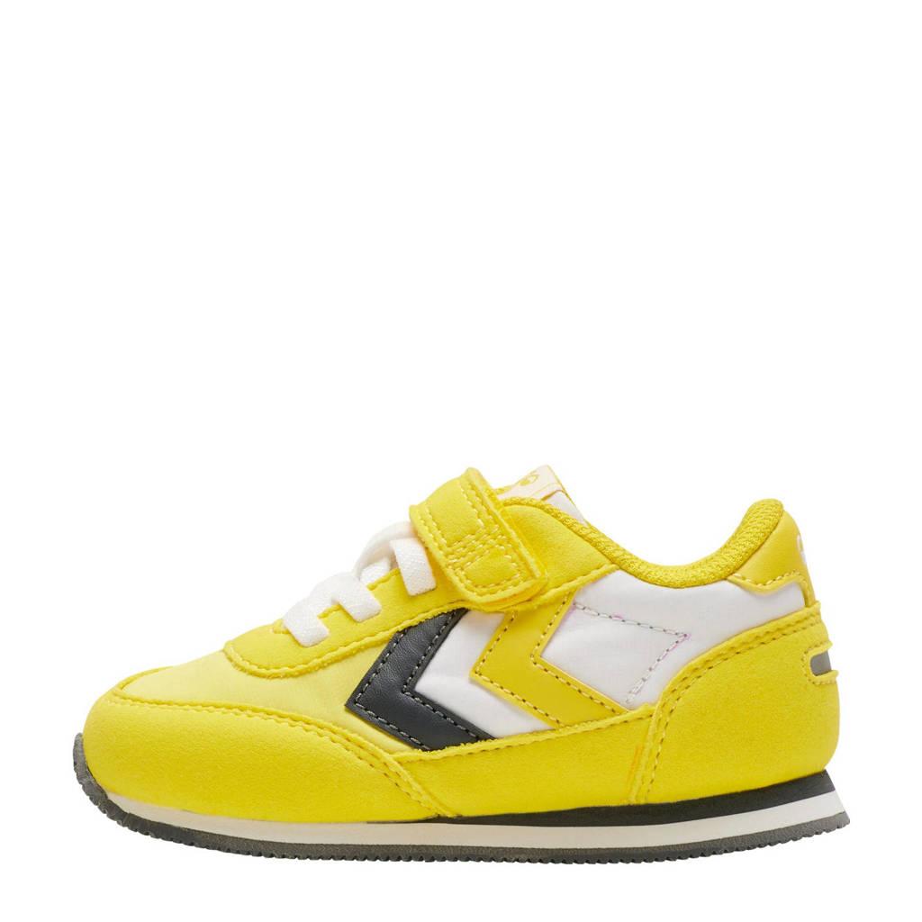 hummel Reflex  sneakers geel/zwart, Geel/zwart