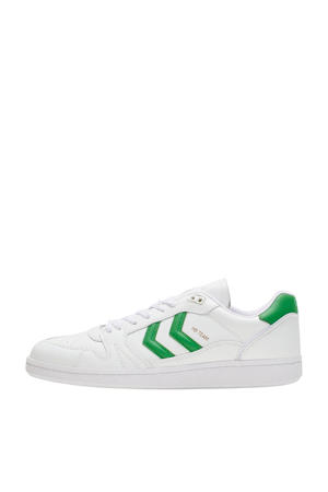 HB Team Suede  sneakers wit/groen