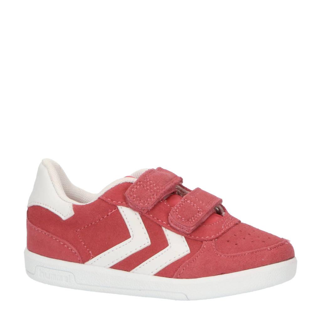 hummel Victory  sneakers roze, Roze/wit