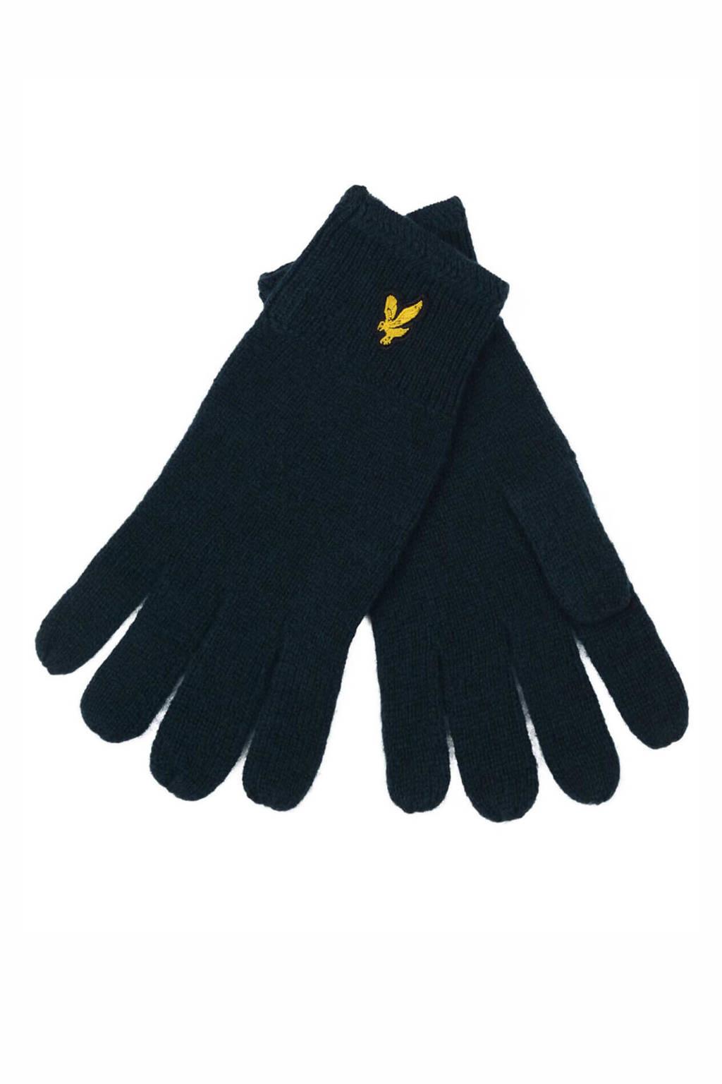 Lyle & Scott handschoenen donkerblauw, Donkerblauw
