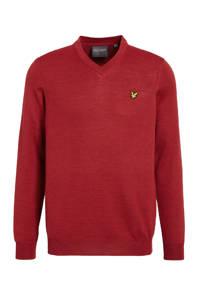 Lyle & Scott sweater rood, Rood