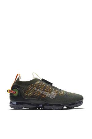 Air vapormax 2020 sneakers grijs/zwart/geel/oranje