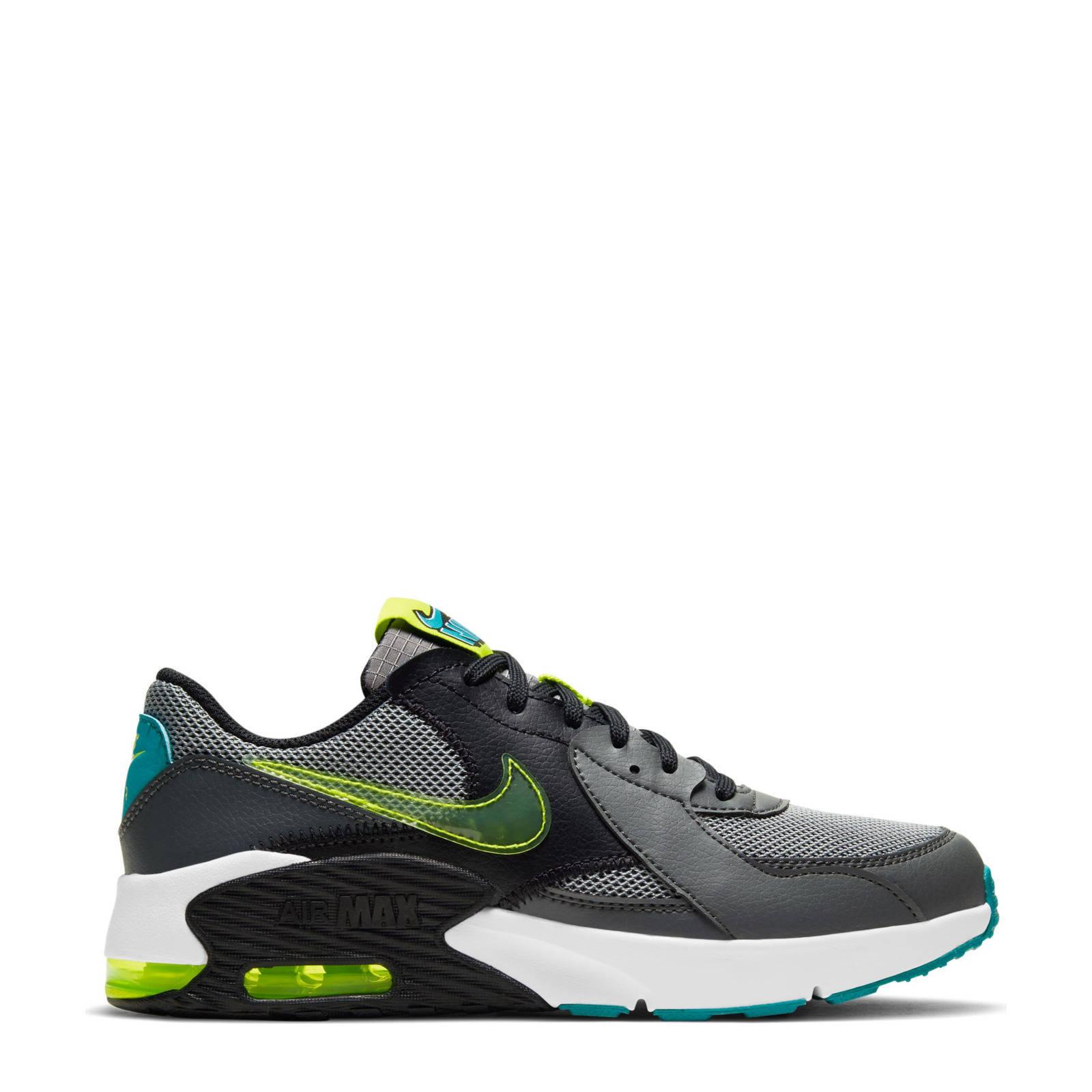 Nike Air Max Excee Power Up sneakers zwart/grijs/geel/blauw online kopen