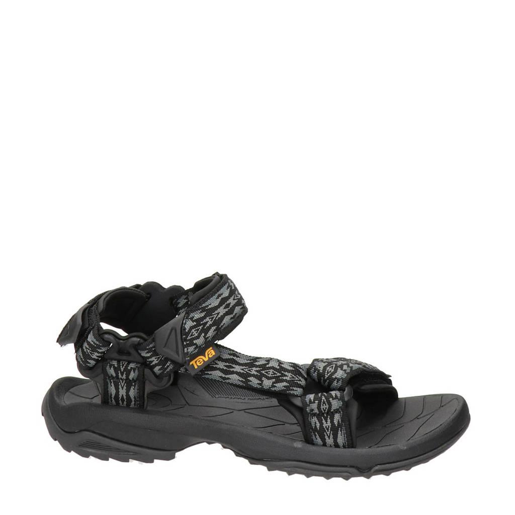 Teva Terra FI Lite  outdoor sandalen zwart, Zwart/grijs