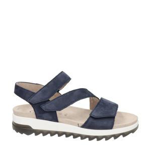 Florenz comfort nubuck sandalen blauw
