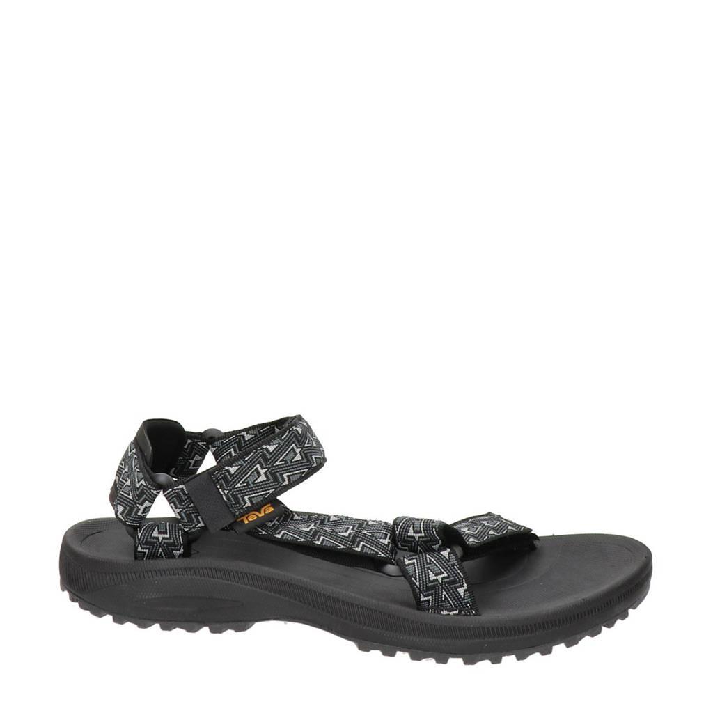 Teva Winsted  outdoor sandalen zwart/wit, Zwart/wit