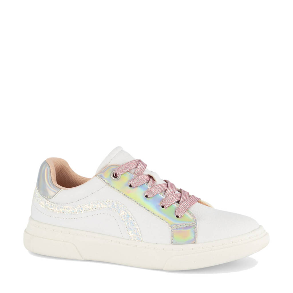 Graceland   sneakers wit/roze, Wit/Roze/Metallic