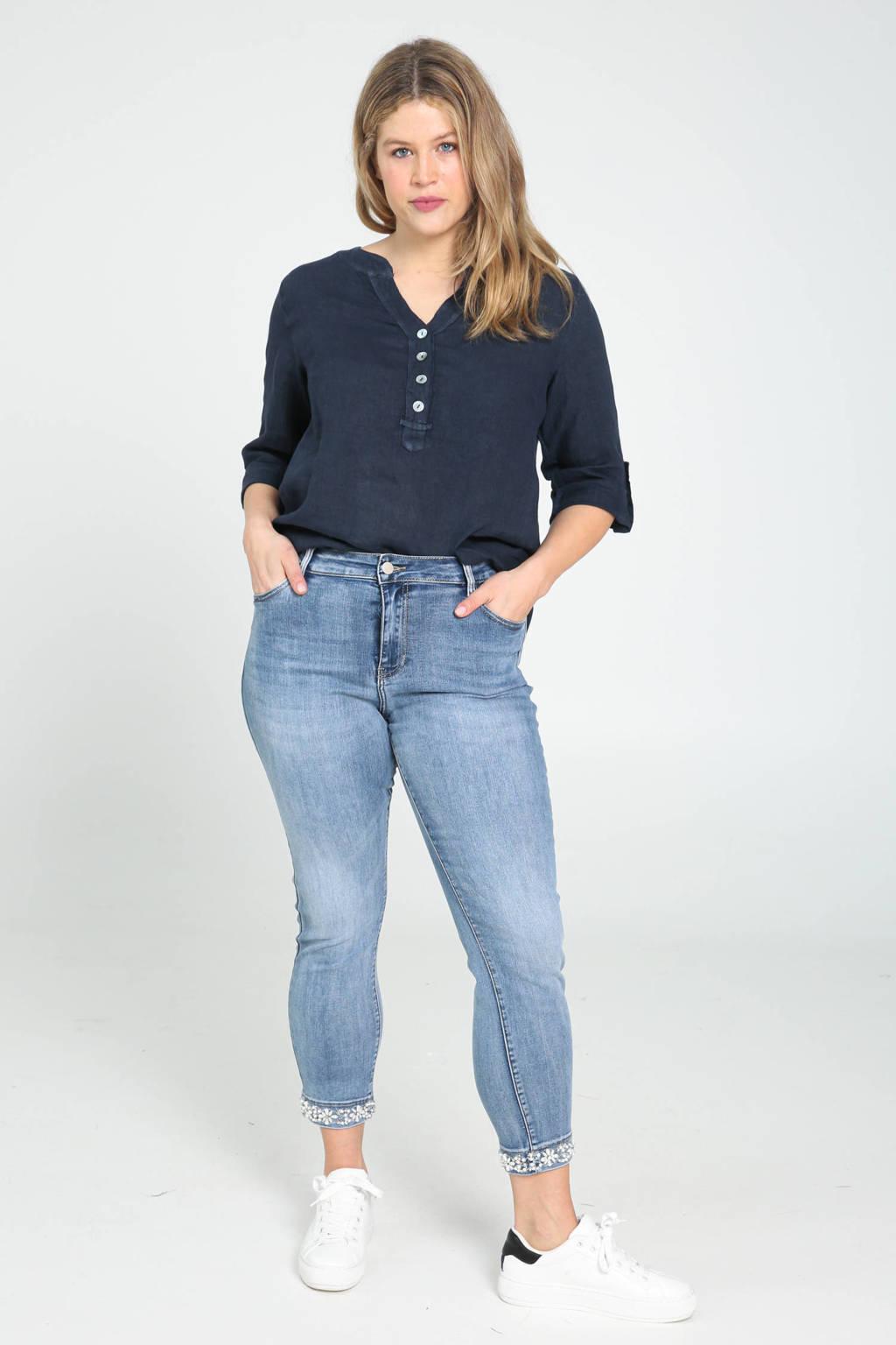 Paprika blouse marine, Marine