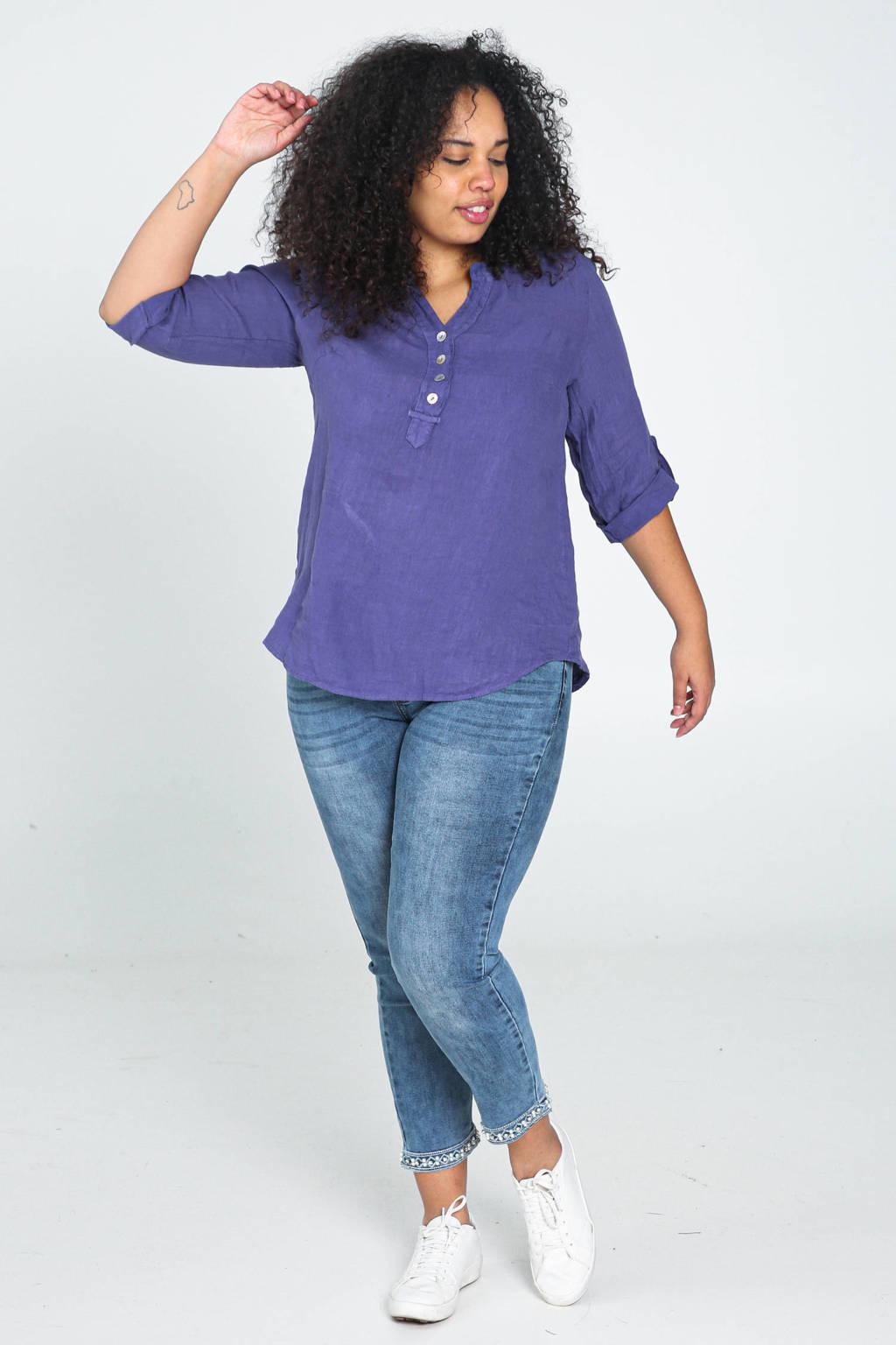 Paprika blouse violet, Violet