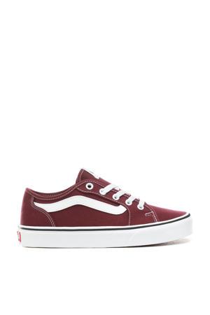 Filmore Decon  sneakers donkerrood/wit