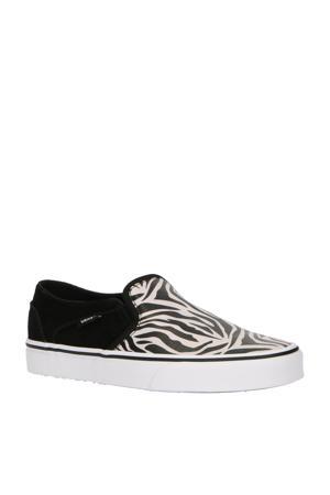 Asher Slip-On sneakers zwart/wit