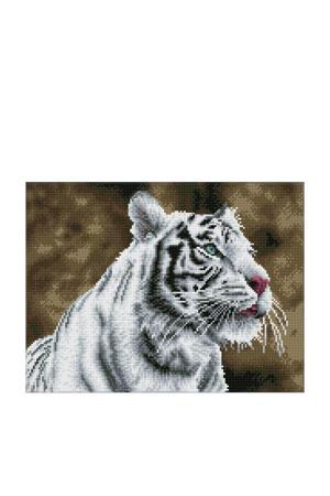 Tiger Blanc 31x41 cm