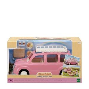 Familie picknick auto