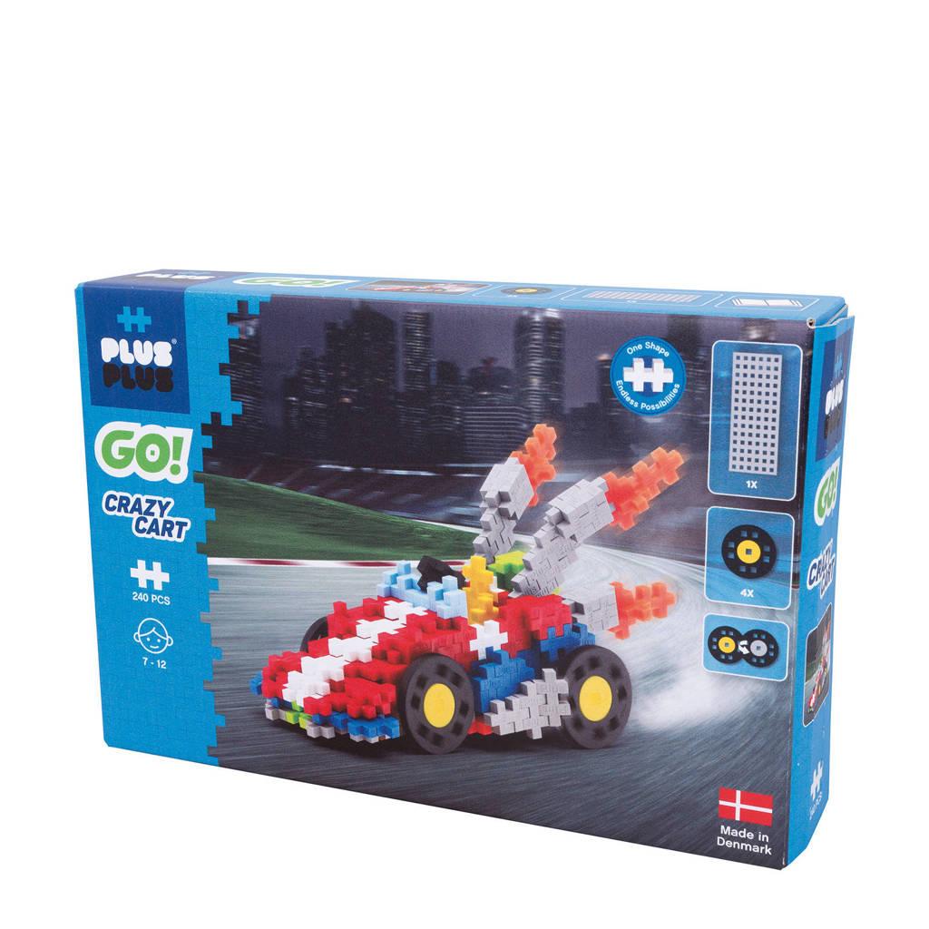 Plus-Plus  GO Crazy cart: 240 stuks