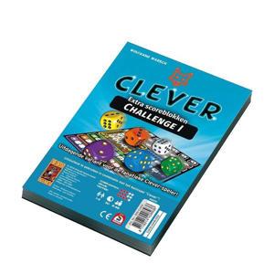 Scoreblok Clever Challenge uitbreidingsspel