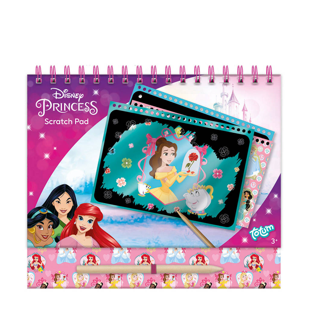 Totum Disney Princess  scratchboek