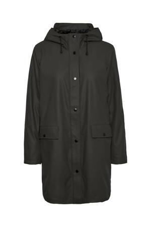coated jas VMASTA  zwart