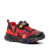 Scapino Blue Box   sneakers met lichtjes rood, Rood/zwart
