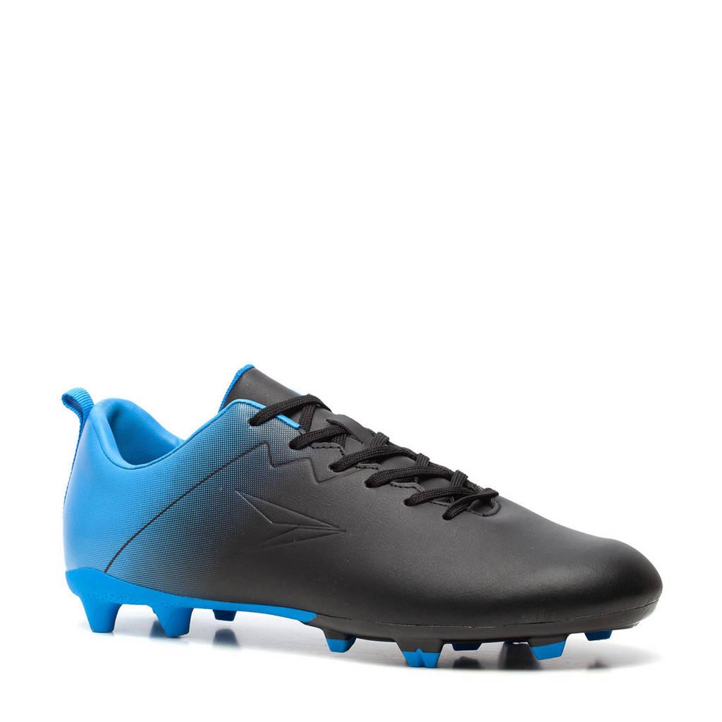 Scapino Dutchy Dutchy Fade  Sr. voetbalschoenen zwart/blauw, Zwart/blauw