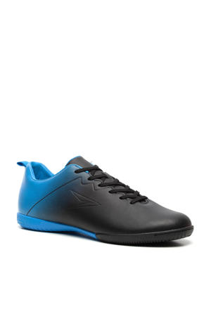 Sr. zaalvoetbalschoenen zwart/blauw