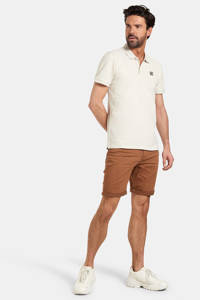 Refill by Shoeby regular fit polo Torre met logo stonewhite, Stonewhite
