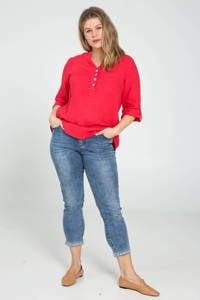 Paprika blouse rood, Rood