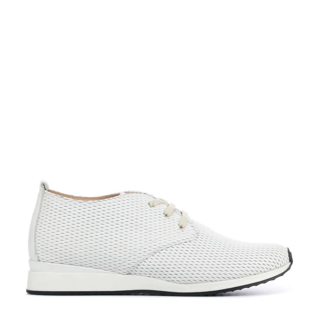 Lamica Helit-St  leren sneakers wit, Wit