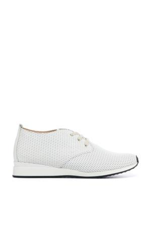 Helit-St  leren sneakers wit