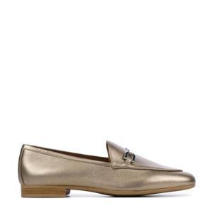 Dalcy  leren loafers goud