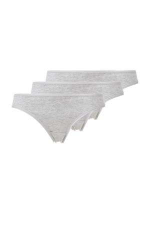 slip (set van 3) grijs