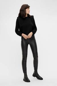 OBJECT cropped trui OBJBEATE zwart, Zwart