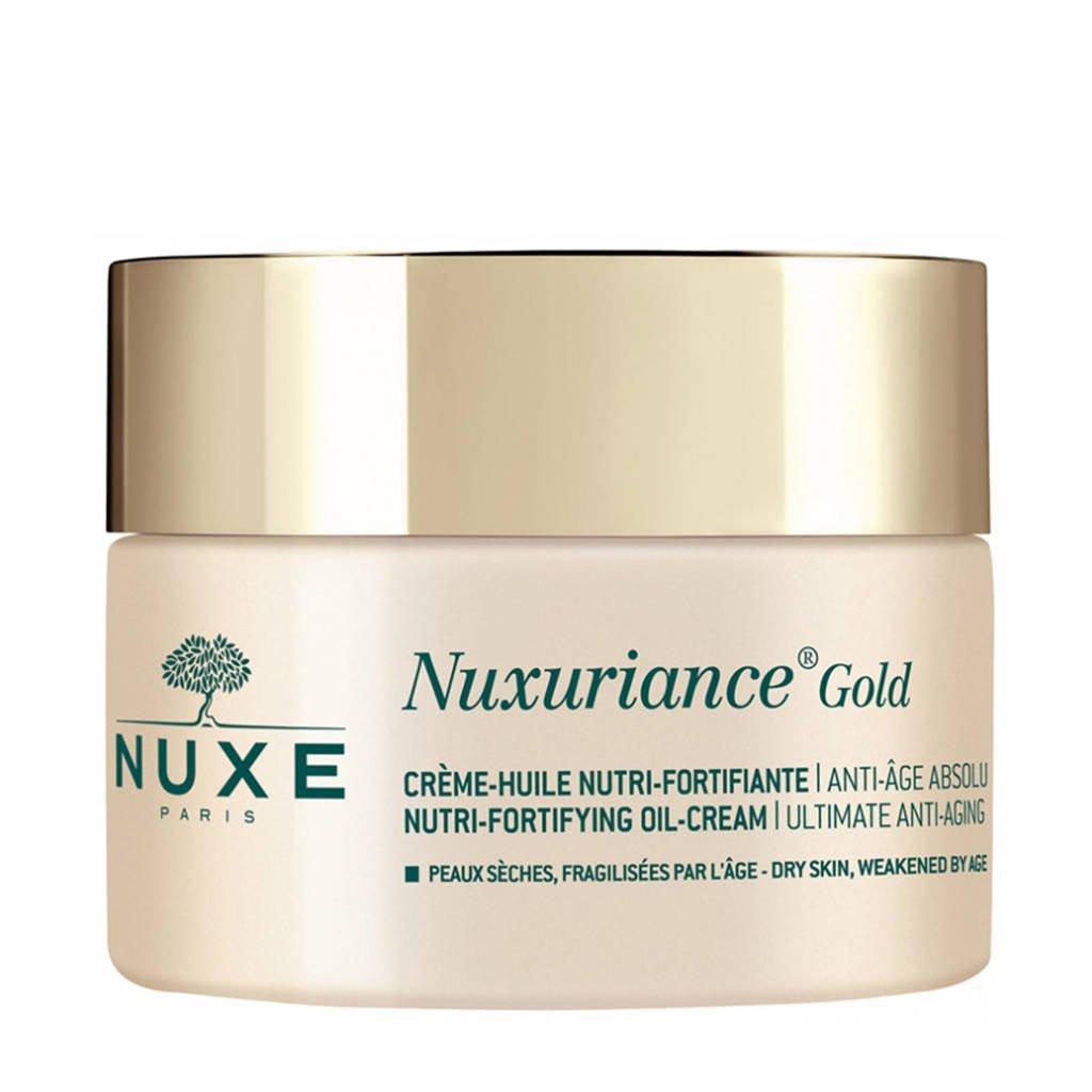 Nuxe Nuxuriance GoldNutri-Fortifying Oil-Cream dagcrème - 50 ml