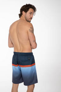 Protest zwemshort Erwin donkerblauw/rood, Donkerblauw/rood