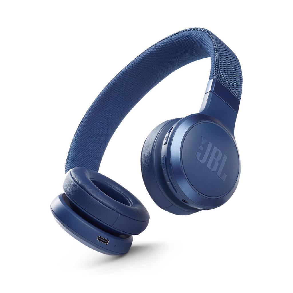 JBL Live 460NC draadloze on-ear hoofdtelefoon (blauw), Blauw